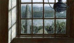 an Orkney window, Bay of Skaill, 15x25cm