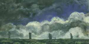 Brodgar stones, 11x22cm