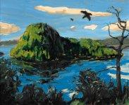 Inchcailloch ravens, 19x23cm