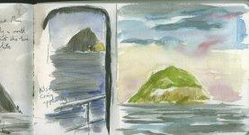 National Trust islands cruise, Ailsa Craig