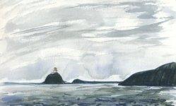 National Trust islands cruise, lighthouse 1