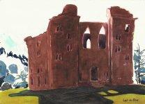 Old Wardour Castle, 15x21cm