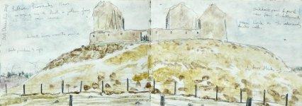 Ruthven Barracks, by RSPB Insh Marshes & Kingussie