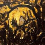 owl, 10x10x3.5cm