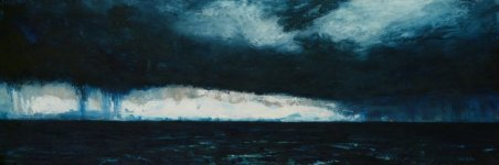 crossing to Lewis, 25x74cm