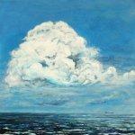 the cloud, 60x60cm