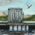 the pier, 15x15cm
