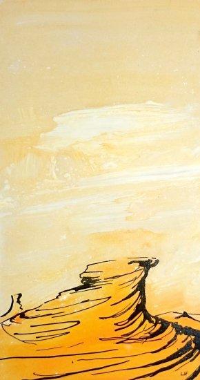 desert yellows, 23x12cm