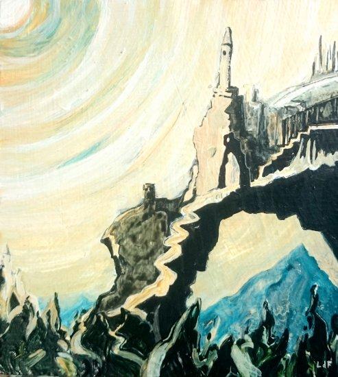 the mountain, 15x13.5cm